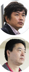 歯科医師 杉元敬弘/歯科技工士 重村宏